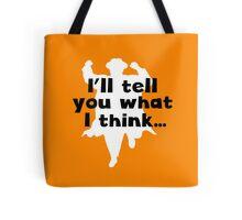 Grett Thinks Tote Bag