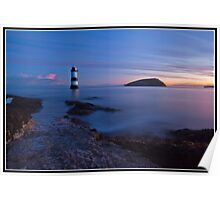 Dawn over Penmon point Poster