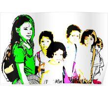 Cambodian kids 01 Poster