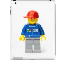 Oil Mechanic Guy Minifig iPad Case/Skin