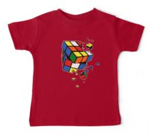 Exploding Cube Baby Tee