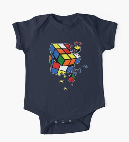 Exploding Cube One Piece - Short Sleeve