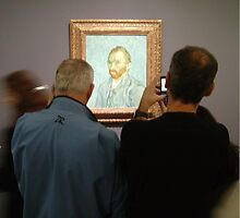 Vincent's self portrait - from a distance by photosbyDavid