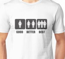 324 Better Best Unisex T-Shirt