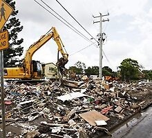 Excavator in Shellharbour Capable of Rubbish Removal by louayalchaar15