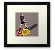 Ace - Doctor Who Framed Print