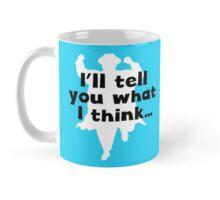 Grett's Thinking Mug Blue Mug