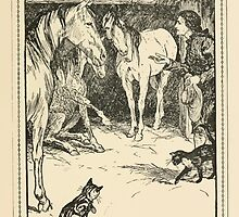 Gulliver's Travels by Jonathan Swift art Arthur Rackham 1899 0317 Gulliver Questioned by Master's Guests by wetdryvac