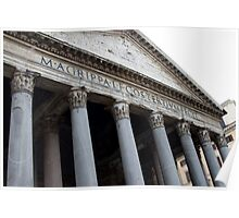 Pantheon, Rome Poster