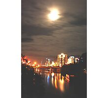 CITY LIGHTS ZONE Photographic Print