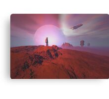 Alien landscape Canvas Print