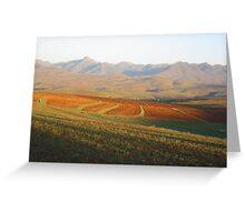 an awe-inspiring Guinea landscape Greeting Card