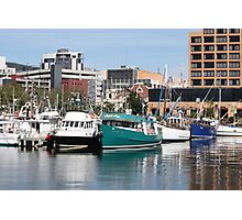 The Fleets In - Hobart Tasmania 2009 Photographic Print