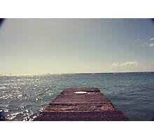 Boardwalk. Photographic Print