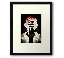 Night of the Living Dead - Minimal Poster Design Framed Print