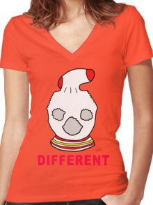 Different Fantastic Mr Fox Women's Fitted V-Neck T-Shirt