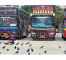 VIP buses Photographic Print