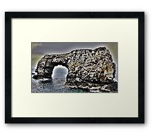 Great Pollet Arch Framed Print