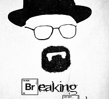 BREAKING BAD - I Am The One Who Knocks by doughballdesign