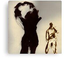 L'ombre de l'humanité Canvas Print