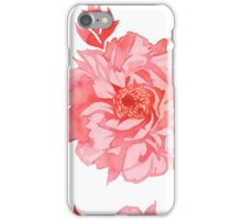 - Seamless peony pattern - iPhone Case/Skin