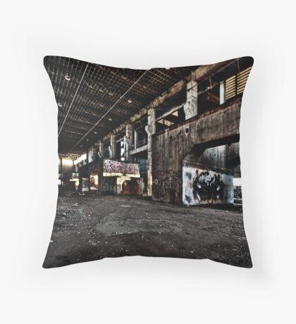 Industrial Sunrise Throw Pillow