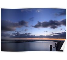 Narrabeen Lagoon, NSW Poster