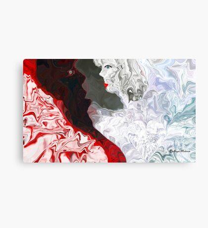 When A Man Loves A Woman -  Art + Products Design  Canvas Print