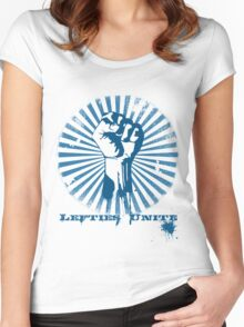 Lefties Unite Women's Fitted Scoop T-Shirt