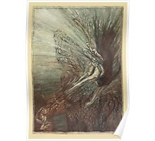 The Rhinegold & The Valkyrie by Richard Wagner art Arthur Rackham 1910 0027 Like a Storm Wind He Comes Poster
