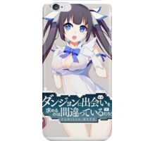 Hestia Danmachi 8 iPhone Case/Skin