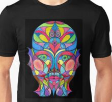 Stained Glass Mirror Unisex T-Shirt