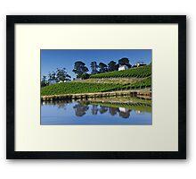 Tinderbox Vineyard Framed Print