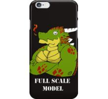 FULL SCALE MODEL iPhone Case/Skin