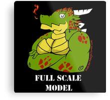 FULL SCALE MODEL Metal Print