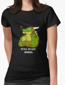 FULL SCALE MODEL Womens Fitted T-Shirt