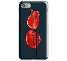 Meshed Up Anthurium iPhone Case/Skin
