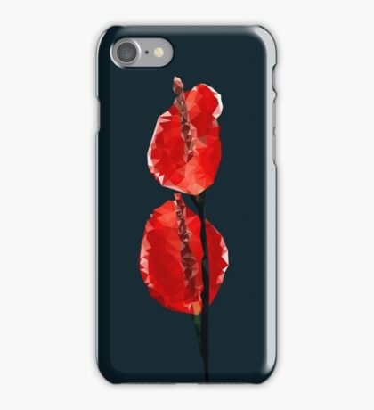 Meshed Up Anthurium iPhone Case/Skin