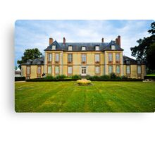 French chateau Canvas Print