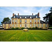 French chateau Photographic Print