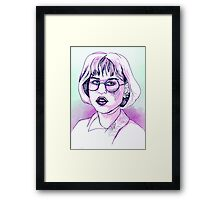 Andi- Pretty In Pink Framed Print
