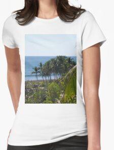 an inspiring El Salvador landscape Womens Fitted T-Shirt