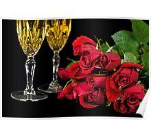 Dozen Roses Poster