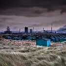 A Grey Day for Steel on Teesside by Phillip Dove