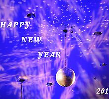 Happy New Year by Judy Seltenright