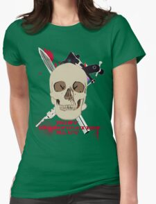 Body Modification Slut Womens Fitted T-Shirt
