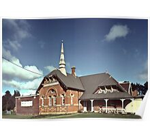 Old primary school Clunes 19860619 0029 Poster