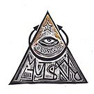 Eye of Providence Magic Power Symbol by craftyhag