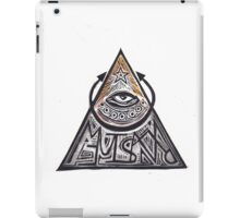Eye of Providence Magic Power Symbol iPad Case/Skin