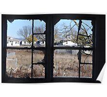 Through the Broken Glass Poster